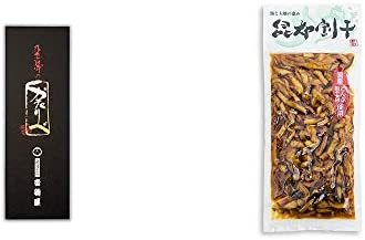 [2点セット] 岐阜銘菓 音羽屋 飛騨のかたりべ[6個入] ・海と大地の恵み 昆布割干(250g)