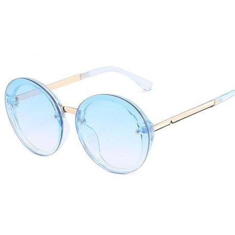 de Gafas Blue de de Gafas sol redondas Gafas Gafas Mujeres sol Rosa de sol mujer con transparentes caramelo colores azul GGSSYY Multi montura sol Amarillo de de CqpgUww
