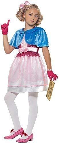 Collant Ragazze Costume Roald Dahl GIORNATA MONDIALE DEL LIBRO COSTUME DA BAMBINO NUOVO VERUCA SALT
