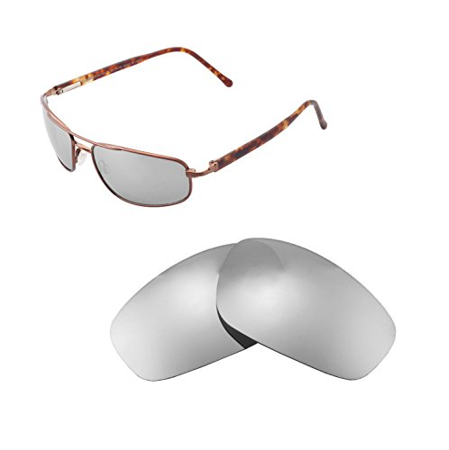 Walleva Replacement Lenses For Maui Jim Kahuna Sunglasses - Multiple Options available (Titanium - - Kahuna Maui