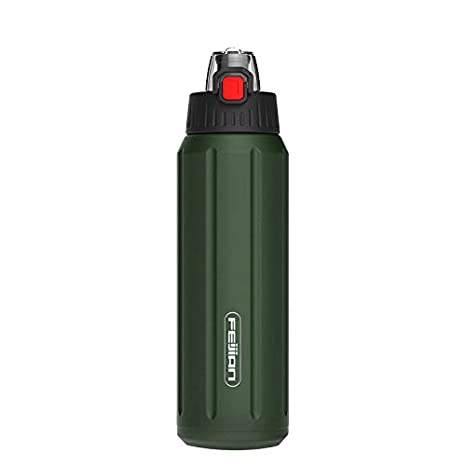 Amazon.com: Botella de termo deportivo 316 de acero ...