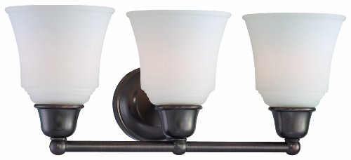 Oiled Bronze Three Light Bath - 8