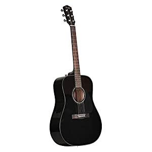 Fender CD-60 V3 Acoustic Guitar – Black