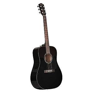 Fender CD-60 V3 Acoustic Guitar – Black