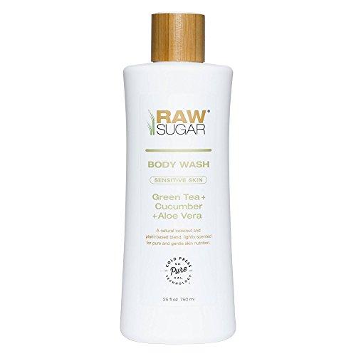 Raw Sugar Sensitive Skin Green Tea Cucumber and Aloe Vera Na