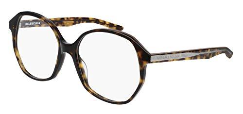 Balenciaga BB0005O Eyeglasses 002 Havana-Havana 57mm