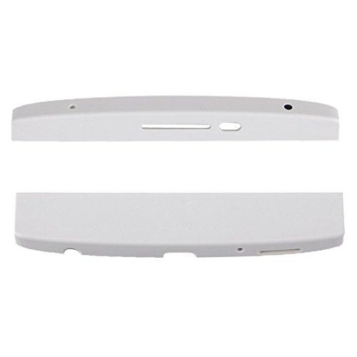 Front Top Cap & Bottom Chin Cover For L G V10 H900 H901 H960 VS987 VS990  (white)