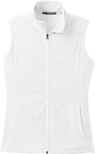 Microfleece Vest Ladies - Port Authority Ladies Microfleece Vest 3XL White