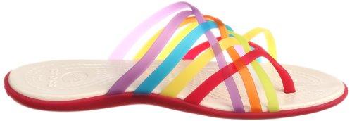 Crocs Womens Huarache Flip-Flop Multi/Geranium C8nowqZZ