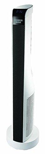 "Sharper Image 30"" ETL Certified Ceramic Tower Heater with Remote Control Ceramic Heaters Sharper Image"