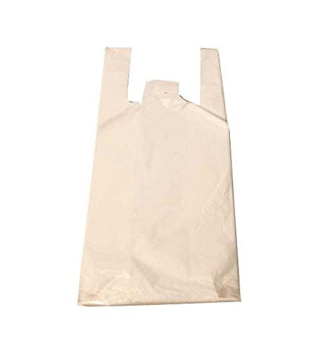 T-Shirt Bag 6x4x15 800pcs White, Case of 1