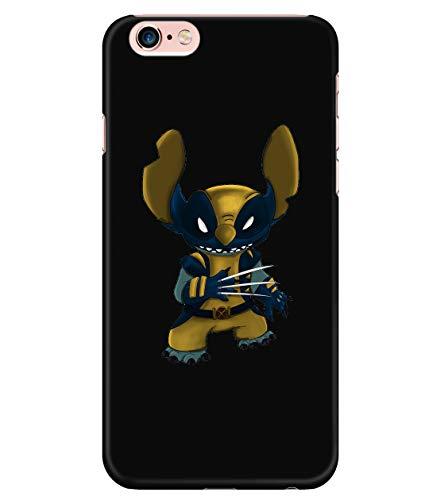 iPhone 6 Plus/6s Plus Case, Wolverine Case for Apple iPhone 6 Plus/6s Plus, X-Men Film iPhone Case (iPhone 6 Plus/6s Plus Case - Black)