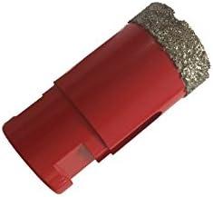 Durchmesser 40 mm Diamantbohrkronen//Fliesenbohrer M14 f/ür Winkelschleifer