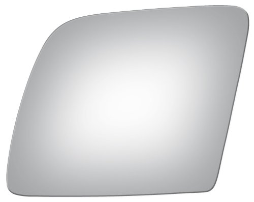 (Flat Driver Left Side Replacement Mirror Glass for 1992-2007 Ford Truck Econoline)