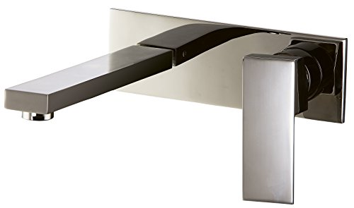 Dawn AB75 1368BN Wall Mounted Single-Lever Concealed Washbasin Mixer, Brushed (Washbasin Mixer)