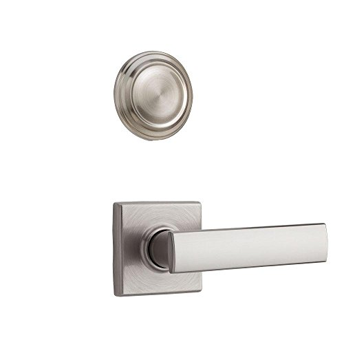 Kwikset 977VDL SQT 15 Vedani Double Cylinder Satin Nickel Interior Pack -