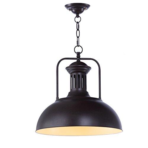 Lx.AZ.Kx E27 Vintage Industrieleuchte Modern Pendelleuchte Schlafzimmer Lampen und Pendelleuchten American Country House Hotel mit einem Pendelleuchte einem Kopf Lampthatlight Gelb