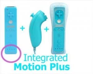 Pack Mando Wii Remote con Wiimotionplus incorporado + Nunchuck ...