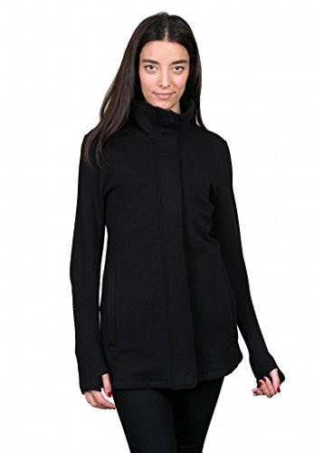 Give Apparel Meaning Women's Signature Jacket-Large-Black