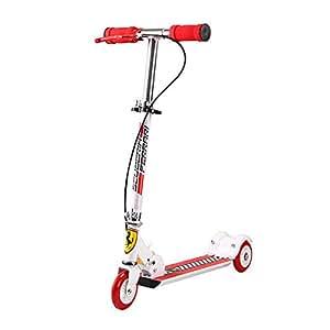 Amazon.com: Shop Sport Ferrari FXK17 - Patinete de tres ...