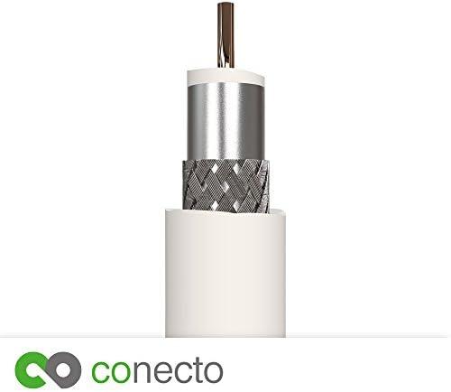 Conecto Hq Tv Antennenkabel Anschlusskabel Für Dvb C Elektronik