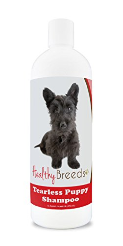Healthy Breeds Puppy Shampoo Natural for Scottish Terrier - OVER 100 BREEDS - Nourishes & Moisturizes for Growth - Safe with Flea and Tick Topicals - 16 oz
