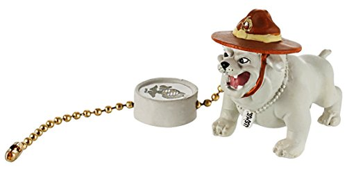 Pull Mascot (Military Mascot - Marines Bulldog - Military Fan or Lamp Pull, Military Figurine, Military Decor, Military Souvenir, Military Gift and Accessory.)