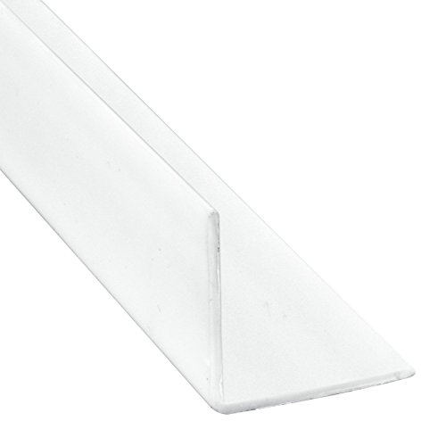 Prime-Line Products MP10066 Corner Shield w/Tape, 3/4 in. x 4 in, Vinyl Construction, White, 5 Pack, 5 Piece