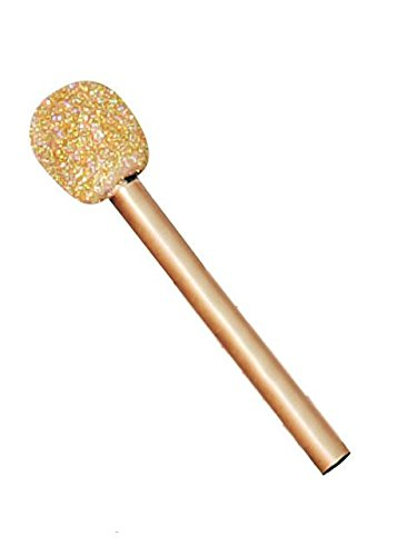 (Fun World Unisex-Adult's Glitter Microphone, Multi)