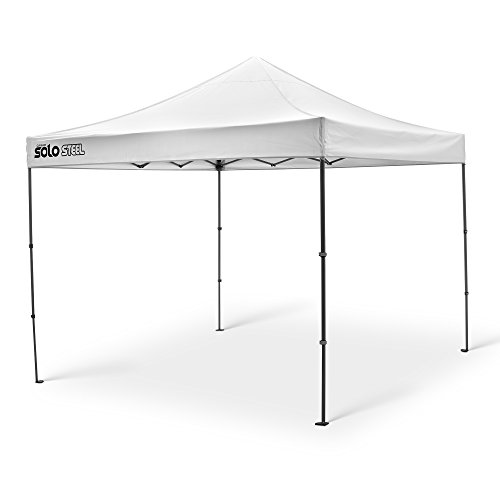 Quik Shade Solo Steel 100 10'x10' Instant Canopy, White