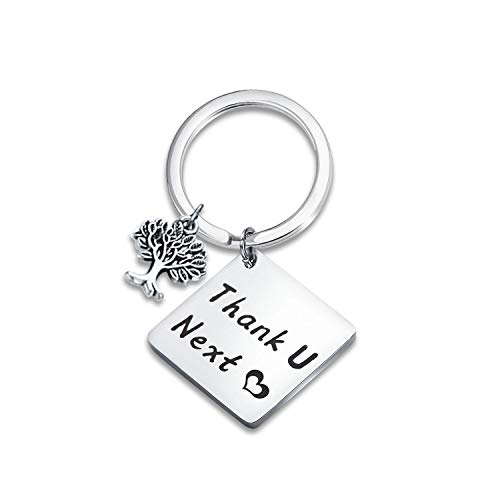 - SEIRAA Thank You Gift Appreciation Jewelry Make A Difference Keychain Volunteer Employee Gift Social Worker Jewelry (Thank U Keychain)