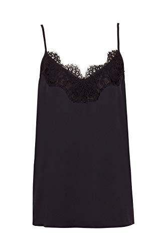 Collection Esprit Para Mujer Negro Blusa black 001 dUwqrEU