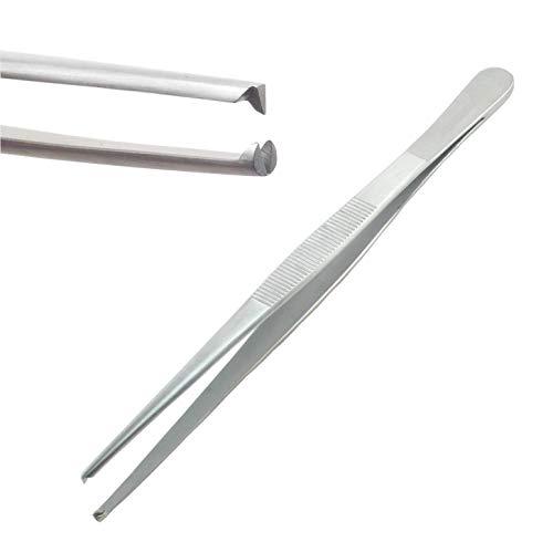 - Precision Blunt Kocher 1x2 Rat Tooth Stainless Steel Thumb Forceps Tweezers 6