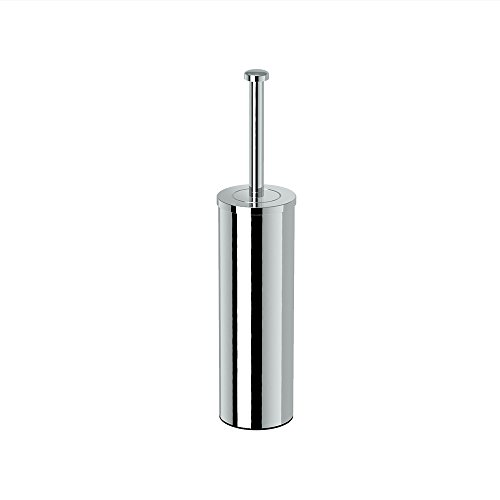 Gatco 1481 Latitude II Slender Toilet Brush Holder, Chrome