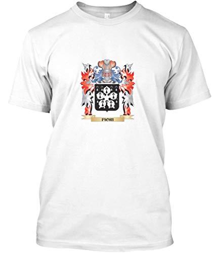Fiori Coat arms Family Crest 2XL - White Tshirt - Hanes Tagless Tee