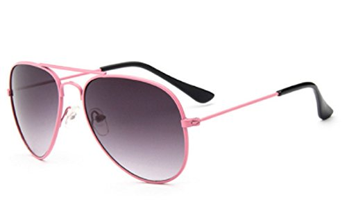 Hot Sale Fashion Kids Sunglasses Child Black Sun Glasses Anti-uv Baby Sun-shading Eyeglasses Girl Boy Sunglass (Black Pink - Face Eyeglass Heart Shaped Frames