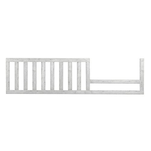 Evolur Convertible Crib Toddler Guard Rail, Antique Grey by Evolur