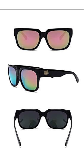 C10 Polarizadas Vintage Gafas Espejo Súper Ligero Sol Retro UV400 Mujer Unisex Gafas Lente de Gafas Cuadrados de Hombre Fliegend Sol wqp0HExfR