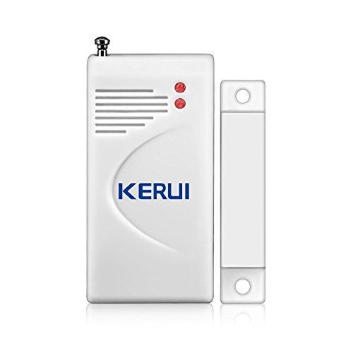 433MHz Wireless Door/Window Magnetic Sensor For GSM Home Security Alarm Systems