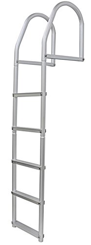 Extreme Max 3005.4108 Weld-Free Fixed Dock Ladder - - Ladder Dock