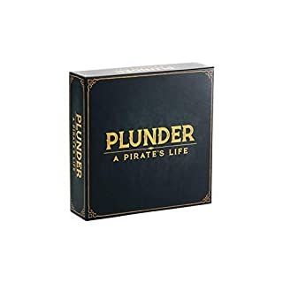 Plunder A Pirate's Life - Strategy Board Game for Adults, Teens, and Kids - Family Game Night