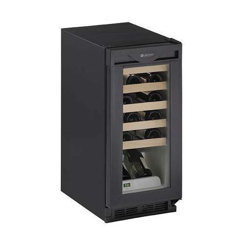 - 24 Bottle Triple Zone Wine Refrigerator Finish: Black