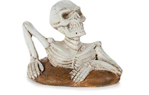 Darice Miniscape Halloween Skeleton Ground 2.25 x 1.75 Inches