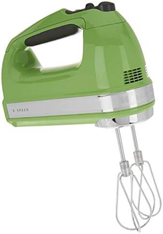 KitchenAid KHM920ga 9-Speed Most Powerful Digital Display Power Hand Mixer Green Apple
