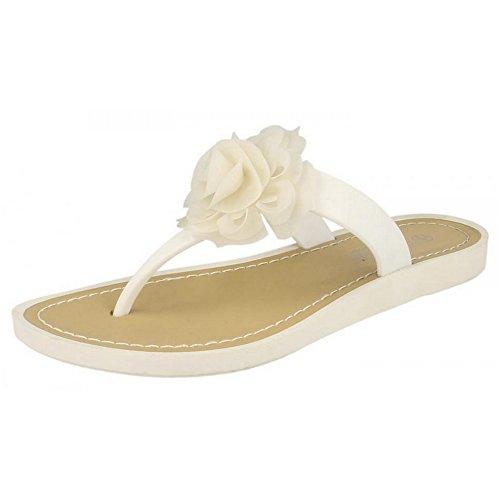 Sandales Sandales Sandales Blanc pour Savannah Savannah Blanc femme femme Savannah pour qFAZwT