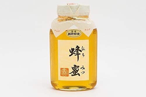 【国産純粋ハチミツ・養蜂園直送】れんげ蜂蜜 850g