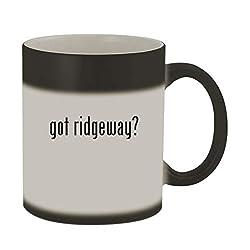 got ridgeway? - 11oz Color Changing Sturdy Ceramic Coffee Cup Mug, Matte Black