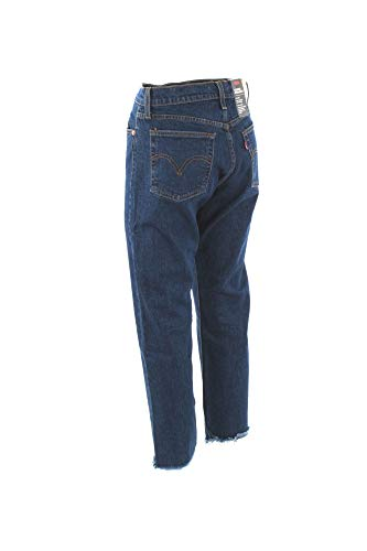 Vintage Below Straight Wedgie Levi's The Denim Medium Belt Blue Clothing dWqqtrxnI