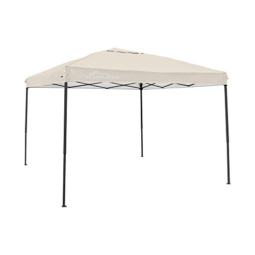 Summates 10X10ft Instant Canopy,Pop Up Canopy,Booth Canopy,Color Light Blue,Royal Blue,Khaki,Green,Gray Aavilable (10 x 10ft, khaki) (10 x 10ft, khaki) by Summates