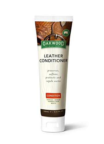 OAKWOOD LEATHER LEATHER CONDITIONER, 4.2 OZ